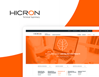 Hicron - website for integrator of IT systems