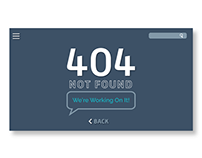 Daily UI: 404 Page
