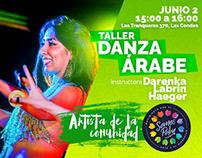 Taller Danza Árabe - Somos Polen
