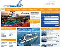 Website de Destino para CrucerosTransamerica.com