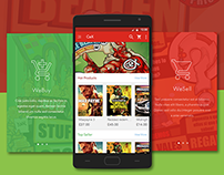 CeX WeBuy - Android Application Concepts Design