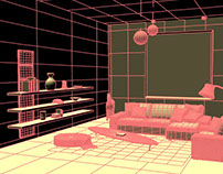 3D interior design modeling