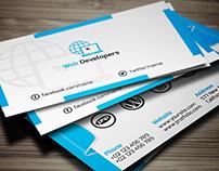 Web Developer Business Card (Free Download)