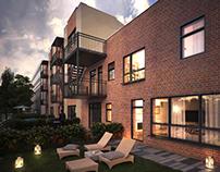 apartements building visialisation | 2017