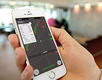 Real-time stock analysis platform interactive interface