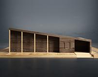 Komorebi House Maquette