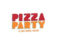 Pizza Party · Rediseño