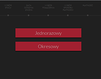 Interface concept UX/UI