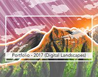 Portfolio: 2017 Illustration (Digital Landscapes)