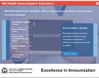 WA Health - CDCD,  Online Immunisation Update