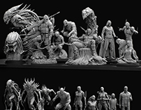 Progress Sculpts