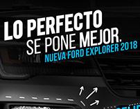 Facelift Ford Explorer 2018