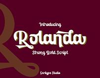 Rolanda Font - FREE SCRIPT FONT