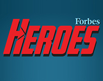 Forbes Heroes Event / Webdesign