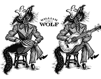 William Wolf Collection Illustrated by Steven Noble