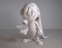 Deku Link miniature