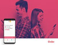 Tinder - Sensibilisation adv (personal project)