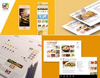 Mobile User Interface | Food Brand