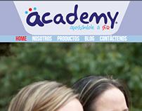 Página web Academy