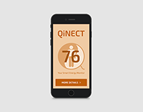 QiNECT - Smart home app concept