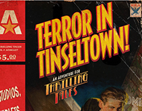 BOOK/LOGO DESIGN: Terror in Tinseltown!
