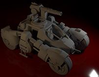 Borderlands Racer Model