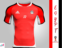 Egypt Kit ( Russia 2018 ) Not Official