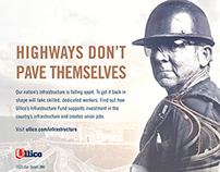"""Today's Union Worker"" - Infrastructure Ad Campaign"
