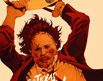 Texas Chainsaw Massacre Screen Prints