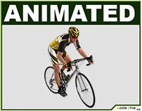 Realistic Male Cyclist CG