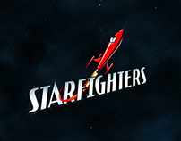 Star-Fighters branding concepts.
