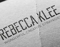 Rebecca Klee Logo Design
