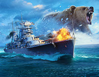 World of Warships Promo Assets