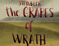 """Exercise cover book """"The Grapes Of Wrath"""" J. Steinbeck"""