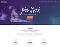 Zpholio – Freelancer Portfolio WordPress Theme!
