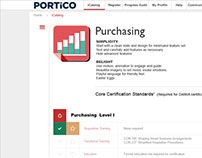 Portico UX/UI Foundation Plan and Mockups