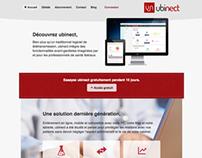 Ubinect - Website design