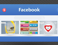 UI Design for Facebook