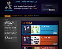 Alerte Apéro - Website design (e-commerce)