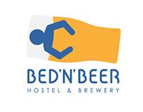 Bed'n'Beer hostel & brewery - visual identity