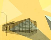 Architectural Prints: Toronto Libraries
