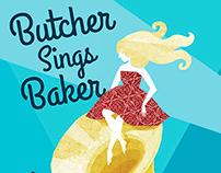 Poster: Butcher Sings Baker