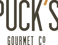 Puck's Gourmet Co. Branding