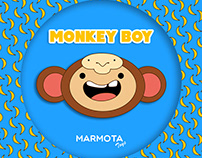Monkey Boy - Toy Art