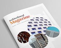 Architectural Magazine Template