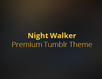 Night Walker - Premium Tumblr Theme