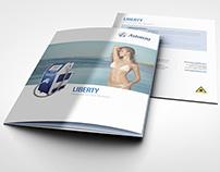 Astanza tri-fold brochure family