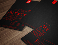 Business Card Design - Adobe Systems