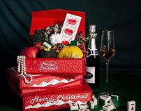 Christmas dessert box