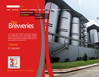Web Design: Asia Brewery (Philippines)